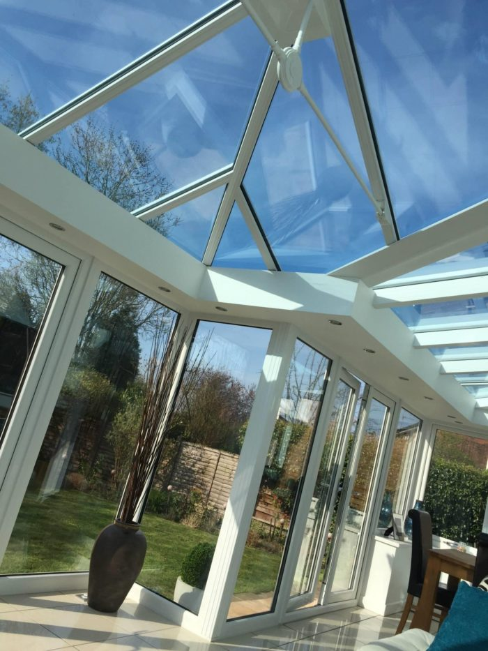 Conservatory Room Addition In The Uk 1040x1485 In 2020: Double Glazed Windows & Composite Doors